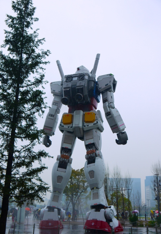 Gundam at Odaiba