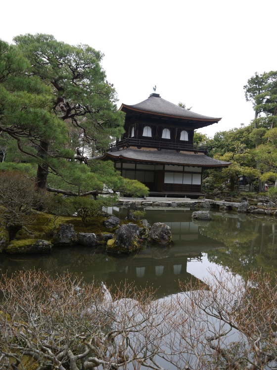 UNESCO World Heritage Site Ginkaku-ji (Silver Temple)