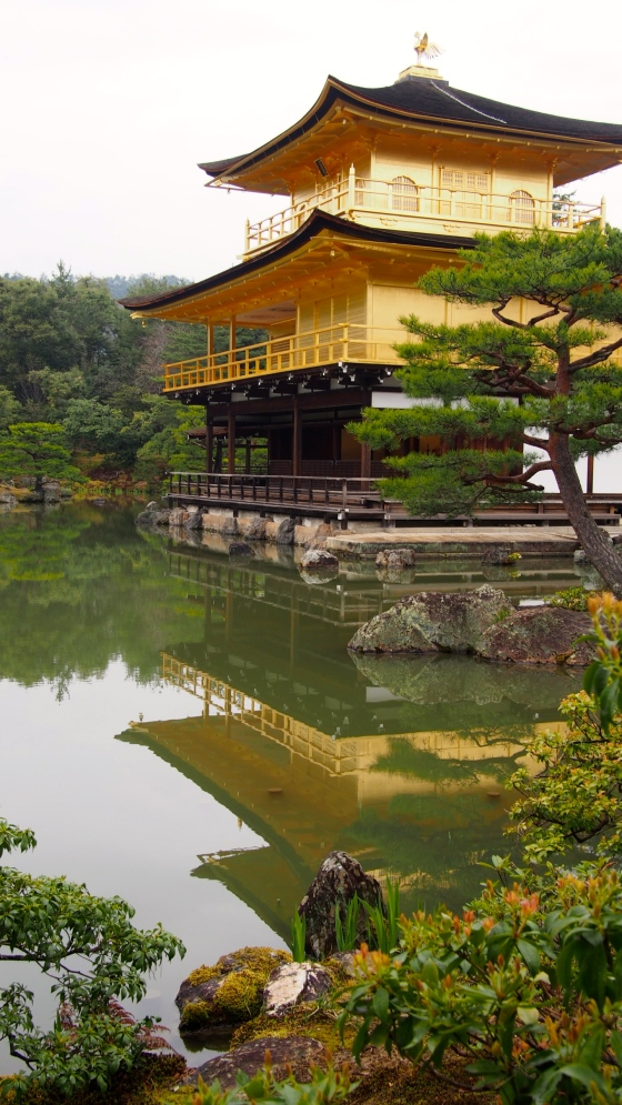 UNESCO World Heritage Site Kinkaku-ji (Gold Temple)