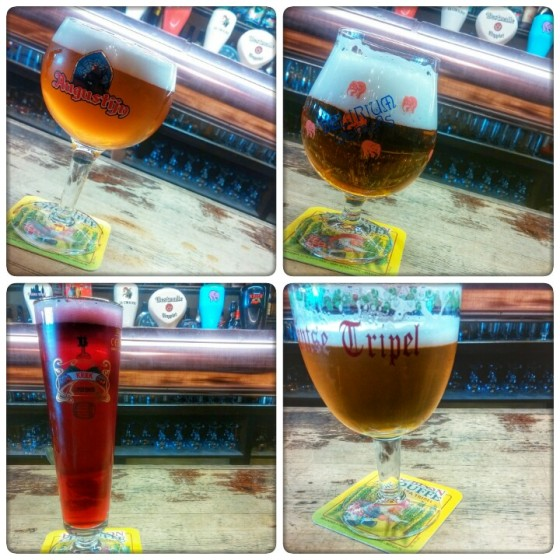 Augustin, Delirium, Kriek‬ and Gentse Triple