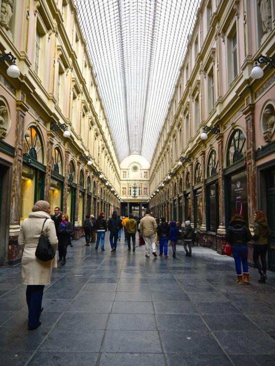 Galeries Royales St. Hubert.